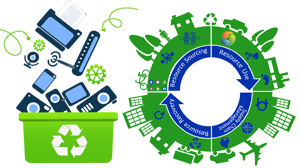 The State-of-the art technology recycle and recover all the valuables from e-Waste materials  and put back to supply chain in an cost-effective and Environmental friendly manner...